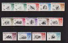 Falkland Islands - #128-140 mint, cat. $ 98.25
