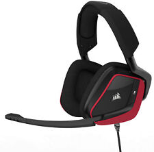 Corsair Void Pro Surround Red Headband Headsets for Multi-Platform