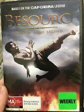 Besouro ex-rental region 4 DVD (2009 Portuguese action movie) rare