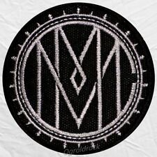 Marilyn Manson Celebritarian Corporation MMC Logo Embroidered Patch Spooky Kids