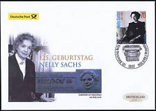 BRD 2016: Nelly Sachs! post-FDC del N. 3230 di Berlino con timbro speciale! 1703