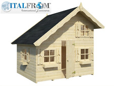 Wooden wendy house kids outdoor cottage kids playhouse ItalfromB4