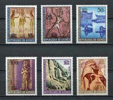 27219) GUINEA 1964 MNH** Nuovi** Archeology 6v Ramses,