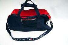 VINTAGE 90s TOMMY HILFIGER DUFFLE GYM BAG retro polo wotherspoon nautica gant