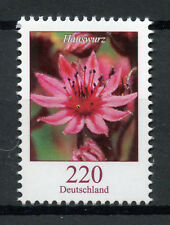 Germany 2018 MNH Flowers Definitives Houseleek Hauswurz 1v Set Flora Stamps