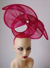 Hot Pink Bow & Twist Fascinator de la función Ideal Para Ascot no hay devolución o reembolso