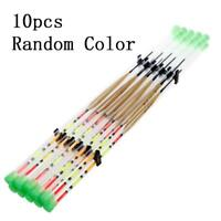 10pcs Quality Portable Wood Light Stick Drift Tube Bobber Fishing Float.Pro