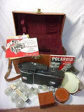 Polaroid 110A Camera w/ case and accessories    T*