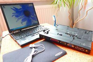 Lenovo X61s Netbook MIT DOCK u EXTRAS l 12 Zoll l AKKU NEU l Windows 7 ULTIMATE