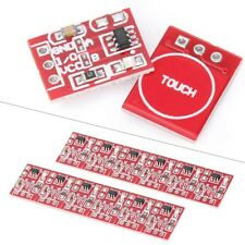 10pcs Ttp223 Capacitive Touch Switch Button Self Lock Module Component