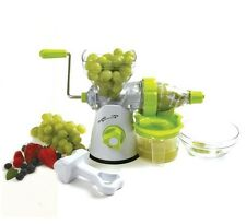New Norpro # 5019 Manual Juicer Fruits & Vegetables