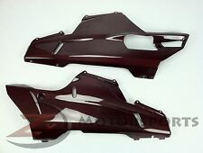 BLEMISH Ducati 848 1098 1198 Lower Belly Pan Fairing Panel Cowl Carbon Fiber Red
