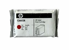 HP C6602R Red Ink Cartridge IJ-6000 Genuine New