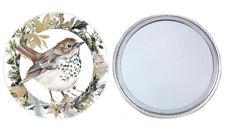 Thrush Pocket Mirror Gift for Bird Lover Stocking Filler