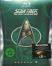 Star Trek Next Generation Season 4 Blu-Ray NEU OVP Sealed Deutsche Ausgabe