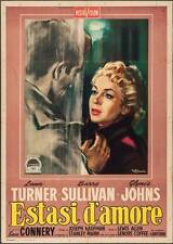 ANOTHER TIME ANOTHER PLACE Italian 2F movie poster 39x55 SEAN CONNERY TURNER