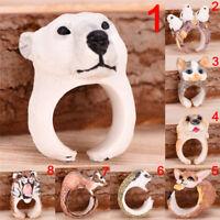 Women Vintage Adjustable  Finger Ring Animal Wrap Fashion Jewelry Rings Gift PT