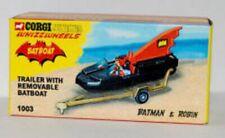 CORGI BATBOAT BATMAN/ EMPTY BOX