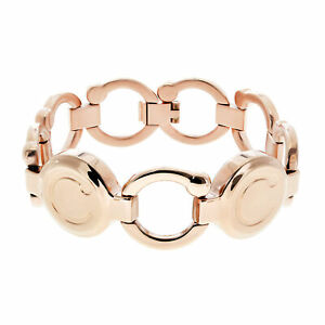Bioflow Magnetic Therapy Rose Gold Pirouette Bracelet - From Bioflow Direct