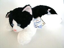 Aurora Flopsies Cookie the Cat 12 Inch Super Soft Bean Filled Animal NEW #26066