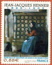 2008 -Adhésif-Timbre france neuf**//J.J. Henner-Art-Tableau-Stamp-Yv..223