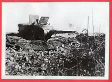 1941 Russian Tank Turret Bunker Outside Leningrad Russia Original News Photo