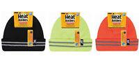 Heat Holders - Homme haute visibilité polaire reflechissant chapeau thermique