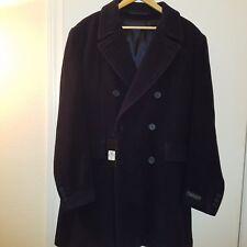 "NWT Men's long black coat by ""Men's warehouse"""