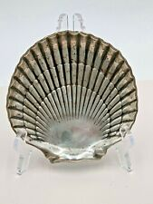 Vintage Sterling Silver Gorham Footed Seashell Dish