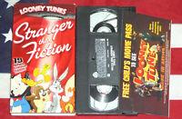 Stranger Than Fiction VHS Looney Tunes Cartoon Video Tape Vintage Animated Rare