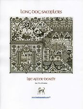 Life After Death Cross Stitch Chart Pack - Long Dog Samplers - NIP
