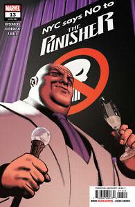PUNISHER #13 Controversial Issue Punisher Emblem Marvel Comics