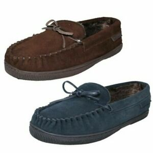 Mens Hush Puppies Moccasin Style Slipper Ace Slipper