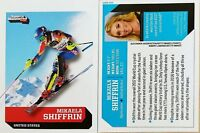3-Mikaela Shiffrin SI 2017 Sports Illustrated For Kids USA Olympic Ski Team GOLD