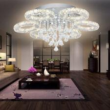88W LED Kristall Deckenlampe Deckenleuchte Wohnzimmer mit Fernbedienung IP65