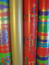 Christmas Wrapping Paper 11 Rolls Totals 390 Sq Ft Animal Print Included