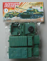 1/32 Landing Force Military Transport Plastic Toy Soldier Playset