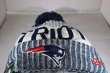 New Era Onfield NFL17 New England Patriots Bobble Ski Hat - Multi Colour (BNWT)