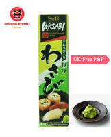 100% High Quality S&B Wasabi Paste In Tube 43g 90g &Sushi mat- UK Seller Free P