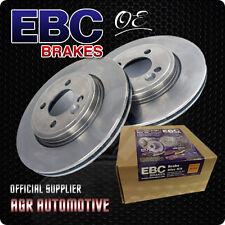 EBC PREMIUM OE REAR DISCS D411 FOR MG ZR 1.8 120 BHP 2001-05