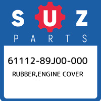 61112-89J00-000 Suzuki Rubber,engine cover 6111289J00000, New Genuine OEM Part