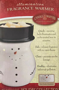 """CANDLE WARMERS Holiday Collection """"Snowman """"ILLUMINATION FRAGRANCE WARMER"""