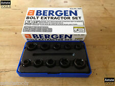 "Bolt Extractor Set by Bergen 3/8"" Drive 9-19mm 10 Piece"