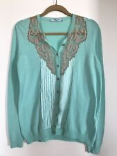 blumarine blouse with lace and silk