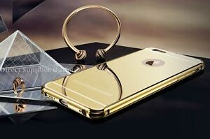 Metal Aluminum Ultra-thin Mirror Metal Case Cover for iPhone 5/5S/5SE/ 6 Plus