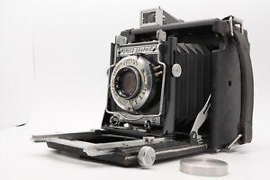 [Near MINT] Graflex Miniature Speed Graphic Camera / 101mm f/4.5 Lens From Japan