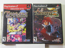 Disgaea 2 Hour of Darkness and Cursed Memories PS2 complete