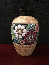 "Art Deco Imperial Amphora Vase made in czecho-slovakia ""STUNNING"""