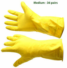 Wholesale Joblot Car Boot Sale Items 120 Pairs Yellow Washing Up Rubber Gloves