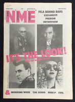 NME Music Magazine  20 April 1985 ABC Working Week The Judds Miss P Coil